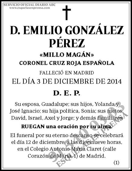 Emilio González Pérez